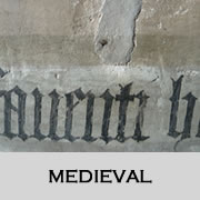 Medieval- before the Dissolution and destruction of the Monasteries 1536